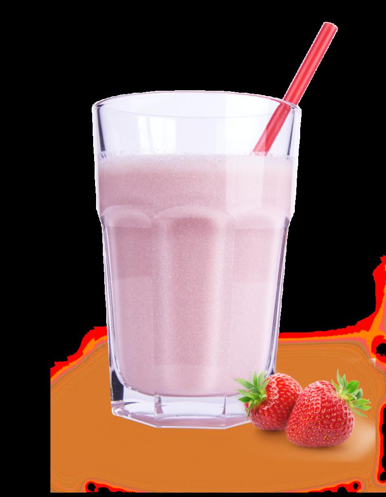 lekkere-aardbeienshake-in-glas